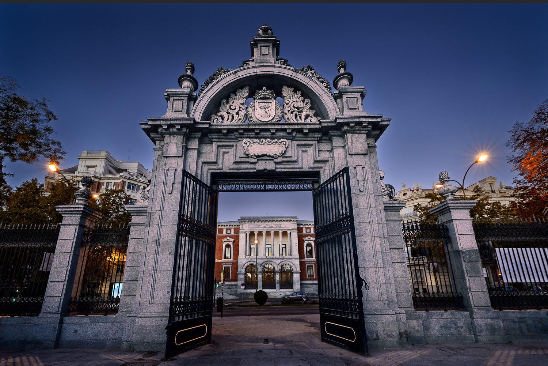 Imagen Arquitectónica de la Puerta de Felipe IV, Retiro, Madrid